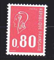 Francia ** - 1974 - Marianne De Béquet.  Yvert N° 1816 - 1971-76 Marianne Of Béquet