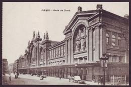 PARIS. NORTH RAILWAY STATION - Gare Du Nord (FRANCE, 1910's) - Stazioni Senza Treni