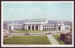 1910's NEW UNION STATION - WASHINGTON, D.C., USA (Unused Old Postcard) - Stazioni Senza Treni