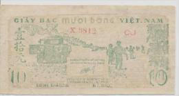 VIETNAM  P. 37b 10D 1952 XF - Vietnam