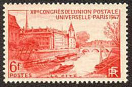 France N°  782 ** Paris - La Cité - France