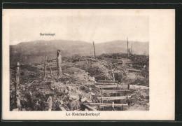 CPA Reichackerkopf, Schützengraben Am Rande Des Schlachtfeldes - War 1914-18