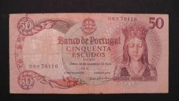 Portugal - 50 Escudos - 1964 - P 168 - VG - Look Scan - Portugal