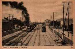 Miramas, La Gare (locomotive Fumant - France