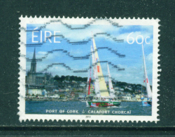 IRELAND - 2013  Port Of Cork  60c  Used As Scan - Used Stamps