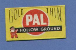 Une Lame De Rasoir  PAL Gold Thin  (L6) - Scheermesjes