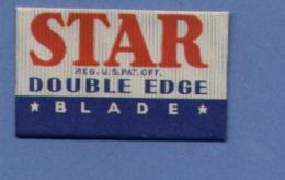 Une Lame De Rasoir   STAR  DOUBLE EDGE  (L80) - Scheermesjes