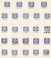 USA 1983/88 Official Stamps SG O2011/355 HM #AL11D - Officials
