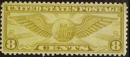 USA 1930 8c Air Pilot's Badge SG A686 HM #AL514 - Air Mail