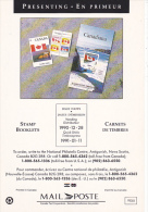 Stamp Booklets 1990 Canada Post Corporation