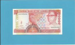 GAMBIA - 5 DALASIS - ND ( 1991 - 95 ) - UNC - Sign. 10 - P 12a - SIR DAWDA KAIRABA JAWARA - Gambie