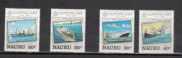 NAURU * YT N° 278 279 280 281 - Nauru