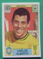 CARLOS ALBERTO BRASIL MEXICO 1970 #30 PANINI FIFA WORLD CUP STORY STICKER SOCCER FUSSBALL FOOTBALL - Panini