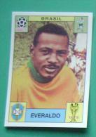 EVERALDO BRASIL MEXICO 1970 #31 PANINI FIFA WORLD CUP STORY STICKER SOCCER FUSSBALL FOOTBALL - Panini
