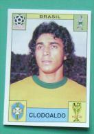 CLODOALDO BRASIL MEXICO 1970 #32 PANINI FIFA WORLD CUP STORY STICKER SOCCER FUSSBALL FOOTBALL - Engelse Uitgave
