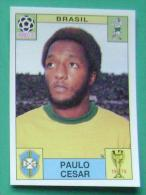 PAULO CESAR BRASIL MEXICO 1970 #39 PANINI FIFA WORLD CUP STORY STICKER SOCCER FUSSBALL FOOTBALL - Panini