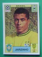 JAIRZINHO BRASIL MEXICO 1970 #41 PANINI FIFA WORLD CUP STORY STICKER SOCCER FUSSBALL FOOTBALL - Engelse Uitgave