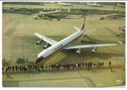CPSM DC 8 D'Air Canada