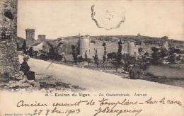 Thematiques 30 Gard Vigan Environs La Couvertoirade Larzac Cliché Soulier  Ecrite Timbrée 30 10 1903 - Le Vigan