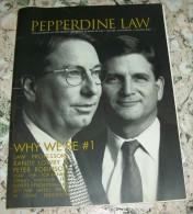 PEPPERDINE LAW-US REVUE - Books, Magazines, Comics