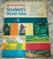 RAND McNALLY-STUDENT S WORLD ATLAS - Books, Magazines, Comics