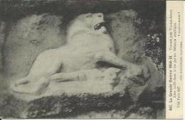 CPA De VINGRE - La Grande Guerre 1914-15 - Lion Taillé Dans Le Roc Par Un Médecin Auxiliaire. - Otros Municipios