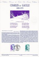"""Document Officiel De 1990 N° 06-90 """" GENERAL DE GAULLE """" N° YT 2634. DPO - De Gaulle (Général)"""