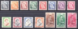 New Zealand 1953 Queen & Q. On Horseback To 5/- Used - Used Stamps