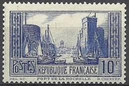 "YT 261 "" Port De La Rochelle Type I Bleu "" 1929-31 Neuf ** - Nuovi"
