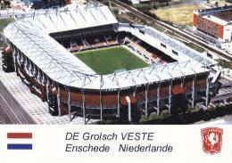 Carte De Stade De:  ENSCHEDE   PAYS-BAS   DE GROLSCH  VESTE    #  GW-488 - Voetbal