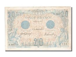 [#202634] 20 Francs Type Bleu, 21 Janvier 1913, Fayette 10.3 - 20 F 1905-1913 ''Bleu''