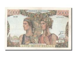 5 000 Francs Type Terre Et Mer - 1871-1952 Gedurende De XXste In Omloop