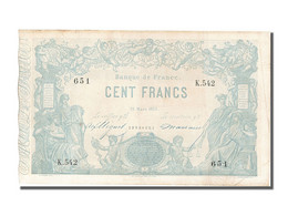 100 Francs Type Indices Noirs - ...-1889 Circulated During XIXth