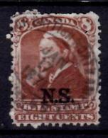 Nova Scotia 1868 8 Cent  Queen Victoria Issue #NSB9   SON - Nova Scotia