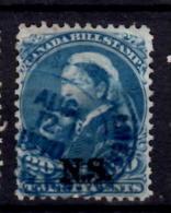 Nova Scotia 1868 20 Cent  Queen Victoria Issue #NSB12   SON - Nova Scotia