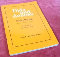 Partition De L'Opéra DIDON Et ÉNÉE De Henry Purcell ( Dido And Aeneas) - Music & Instruments