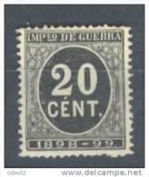 ES239-L3659TO.España.Spa In .Espagne. Cifras,Alfonso Xlll.1898.  (Ed  239) Sin Goma.MAGNIFICO - Sellos