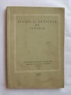 ROMANIA-STUDII SI ARTICOLE DE ISTORIE - Livres, BD, Revues