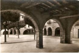POSTAL DE MONTBLANCH DE LOS PORTICOS DE LA PLAZA MAYOR - Tarragona