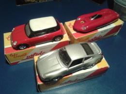 3 VOITURES (SOLIDO)   AVEC BOÎTES D'ORIGINES - Toy Memorabilia