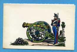 ARTILLERIE Imprimé Sur Bois Ancien De L'imagerie PELLERIN D'Epinal - Sonstige