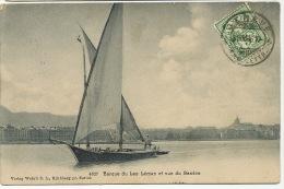 Geneve Barque A Voile Du Lac Leman 4827 Wehrli - GE Geneva
