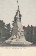 Cpa/pk 1910 Courtrai Kortrijk Monument De Groeninghe Kleur Color - Kortrijk