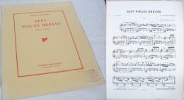 7 Pièces Brèves Pour Piano D'Arthur Honegger - Keyboard Instruments