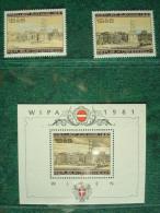 AUTRICHE 1459+1492+B10 **  WIPA 1981 - 1971-80 Ungebraucht