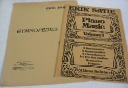 2 Recueils De Partitions Pour Piano D'Erik SATIE - Instruments à Clavier