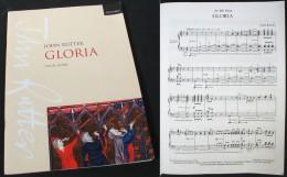 """Partition Du """"GLORIA""""  De John RUTTER - Chant Chorale"""