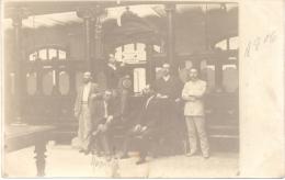OFICINA CENTRAL DE FACTURAS Y PEDIDOS - BUENOS AIRES AÑO 1906 CPA DOS NON DIVISE UNCIRCULATED RARE - Winkels