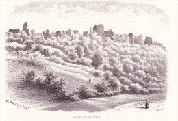 Image Gravure - Ruines De Sautour - Non Classés