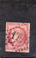 FRANCE   80 C   Année 1870     Y&T: 49   Emission De Bordeaux   (oblitéré) - 1870 Ausgabe Bordeaux